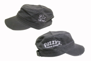 Fuzzy's Military Hat