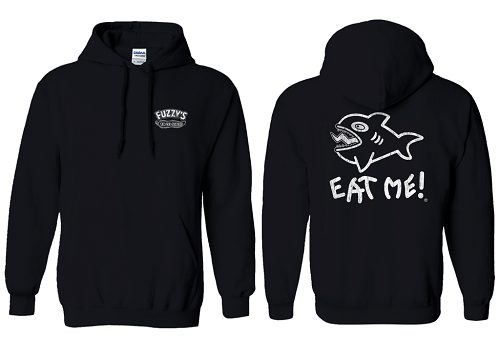 NEW Distressed Eat Me Hoodie