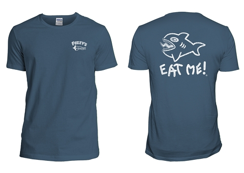 Fuzzy's Distressed Eat Me Tee