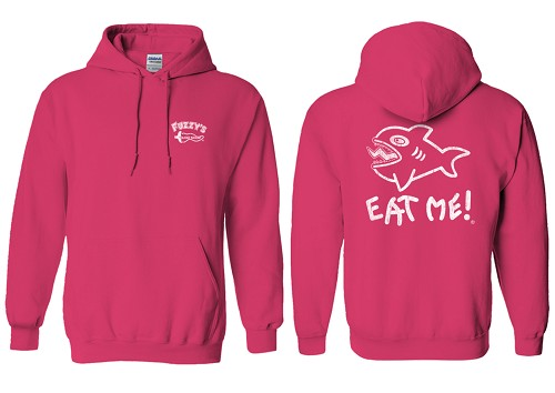 Distressed Eat Me Hoodie