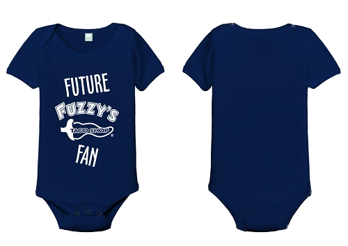 Fuzzy's Future Fan Onesie
