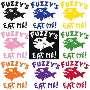 Fuzzy's One Color Decals
