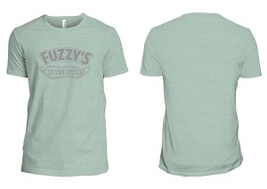 Fuzzy's Gray Pepper Logo