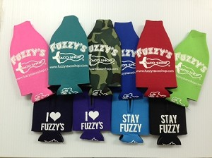 Fuzzy's Bottle Beverage Holders