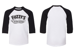 Fuzzy's Kids NEW Pepper Raglan